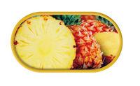 Púzdro so zrkadielkom motív Ovocie - Ananás