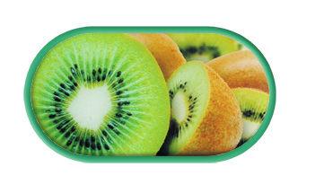 Púzdro so zrkadielkom motív Ovocie - Kiwi