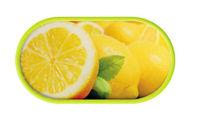 Púzdro so zrkadielkom motív Ovocie - Citrón