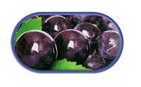 Púzdro so zrkadielkom motív Ovocie - Hrozno