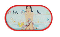 Púzdro so zrkadielkom kreslené motívy - Shoe Terapi