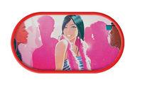 Púzdro so zrkadielkom kreslené motívy - Clubbing