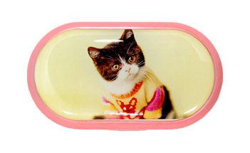 Púzdro so zrkadielkom motív Mačky - Mačiatko vo svetri