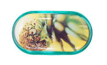 Púzdro so zrkadielkom motív Leto - Ananás