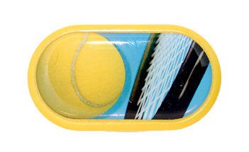 Púzdro so zrkadielkom motív Šport - Tenis
