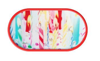 Púzdro so zrkadielkom Cukrovinky - Sviečky