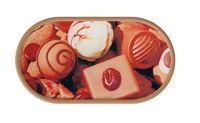Púzdro so zrkadielkom Cukrovinky - Čokoláda