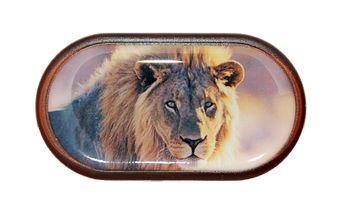 Púzdro so zrkadielkom Divoká zvieratá - Lev