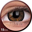 Phantasee Big Eyes - Charming Brown (2 šošovky trojmesačné) - dioptrické - dopredaj