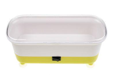 Automatická čistička okuliarov - žltá