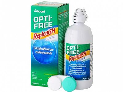 Opti-Free RepleniSH 300 ml s púzdrom