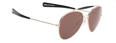 Slnečné okuliare SPY PRESIDIO - Gold / Black - happy