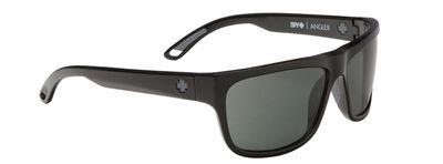 SPY slnečné okuliare Angler Black Grey Green - Happy