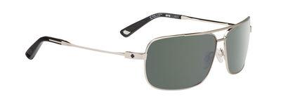 SPY slnečné okuliare Leo GP Silver - Happy grey green