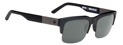 Slnečné okuliare SPY Malcolm Soft Matte Black - Happy polarizačné