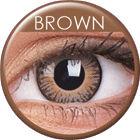 ColourVue 3 Tones - Brown (2 šošovky trojmesačné) - nedioptrické