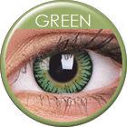 ColourVue 3 Tones - Green (2 šošovky trojmesačné) - nedioptrické