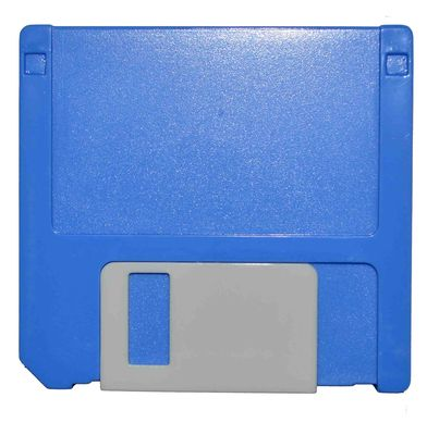 Puzdro zostava Disketa - modrá