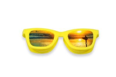 Puzdro OptiShades - okuliare žlté - pláž