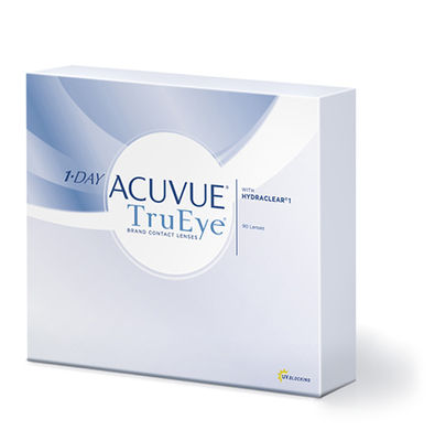 1-Day Acuvue TruEye (90 šošoviek)