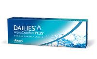 Dailies Aqua Comfort Plus (30 šošoviek)