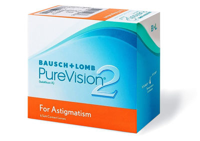 PureVision 2HD for Astigmatism (6 šošoviek)