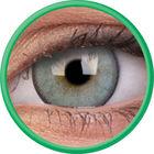 ColourVue Lumina - Gleaming Green (2 šošovky trojmesačné s puzdrem) - nedioptrické