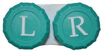 Klasické puzdro farebné - tmavo zelené