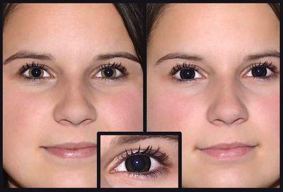 ... ColourVue Big Eyes - Dolly Black (2 šošovky trojmesačné) - dioptrické  ... 3710fd40df4