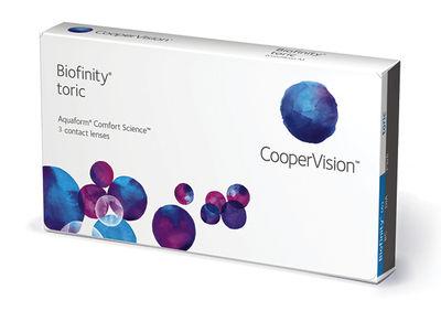 Biofinity Toric (3 šošovky)