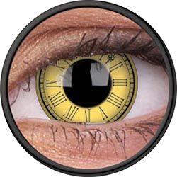 ColourVue Crazy šošovky - Timekeeper (2 ks trojmesačné) - nedioptrické