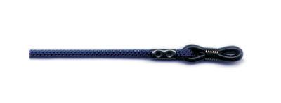 Šnúrka na okuliare  60 cm - tmavo-modrá