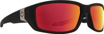 Slnečné okuliare SPY DIRTY MO - Soft Matte Black - Red