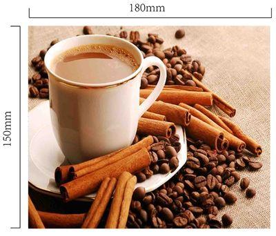 Handričku na okuliare z mikrovlákna - káva