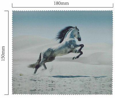 Handričku na okuliare z mikrovlákna - kôň