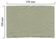 Handričku na okuliare z mikrovlákna jednofarebný - sivý 100x150