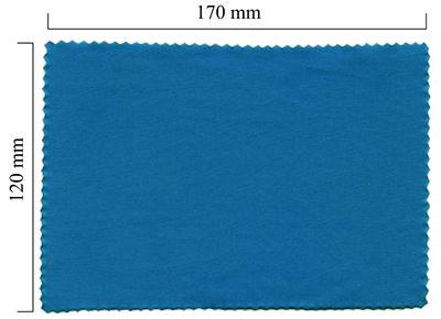 Handričku na okuliare z mikrovlákna jednofarebný - modrý 120x170