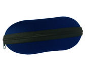 Puzdro na okuliare so zipsom - tmavo modre