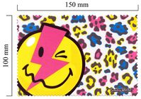 Handričku na okuliare z mikrovlákna Smiley - blesk