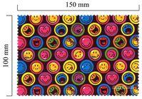 Handričku na okuliare z mikrovlákna Smiley - Smiley čierne