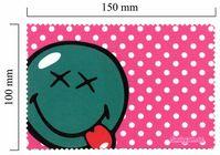 Handričku na okuliare z mikrovlákna Smiley - vyplazeny jazyk