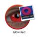 ColourVue Crazy šošovky UV svietiace Glow Red (2 ks ročné) - nedioptrické